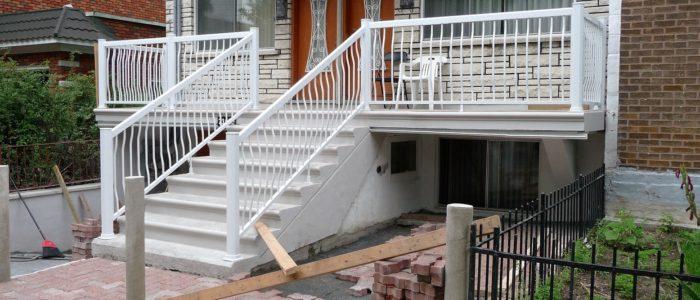 Création Rénovation Rajeunissement de galerie extérieure en PVC